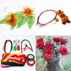 Beginners nylon flower making kit 1, [xs044]